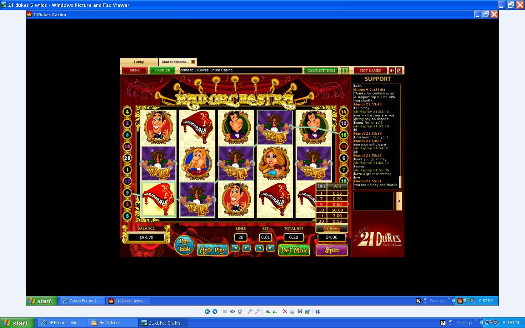 Dukes 21 Casino