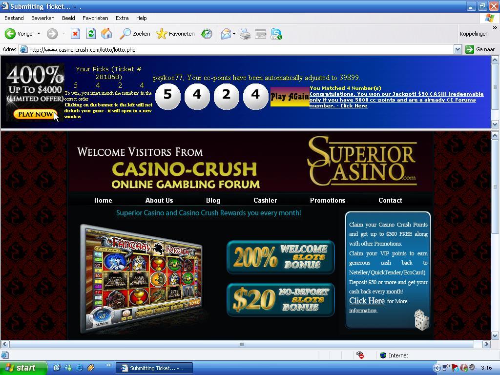 Online casino never win