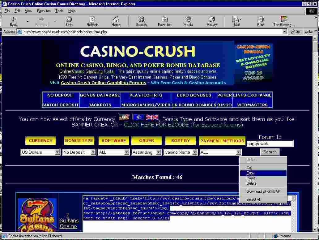 Brand new casino bonus ezboard rich casino no deposit bonus code