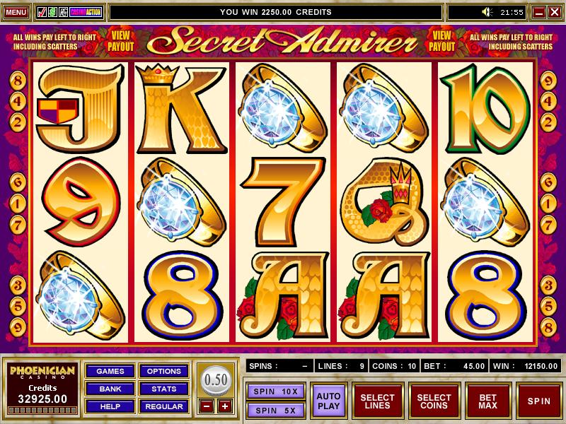 Admirer casino game secret casino biloxi address