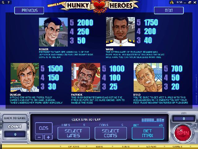 Hunky Heroes